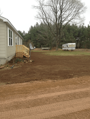 Patch up old lawn