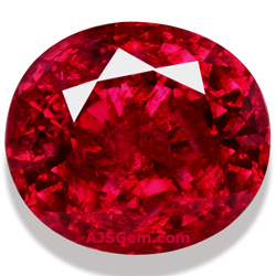 A World Class 546 Ct Unheated Burma Ruby At AJS Gems