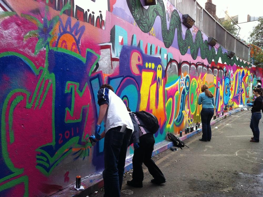 Graffiti lessons - Andy Seize 1