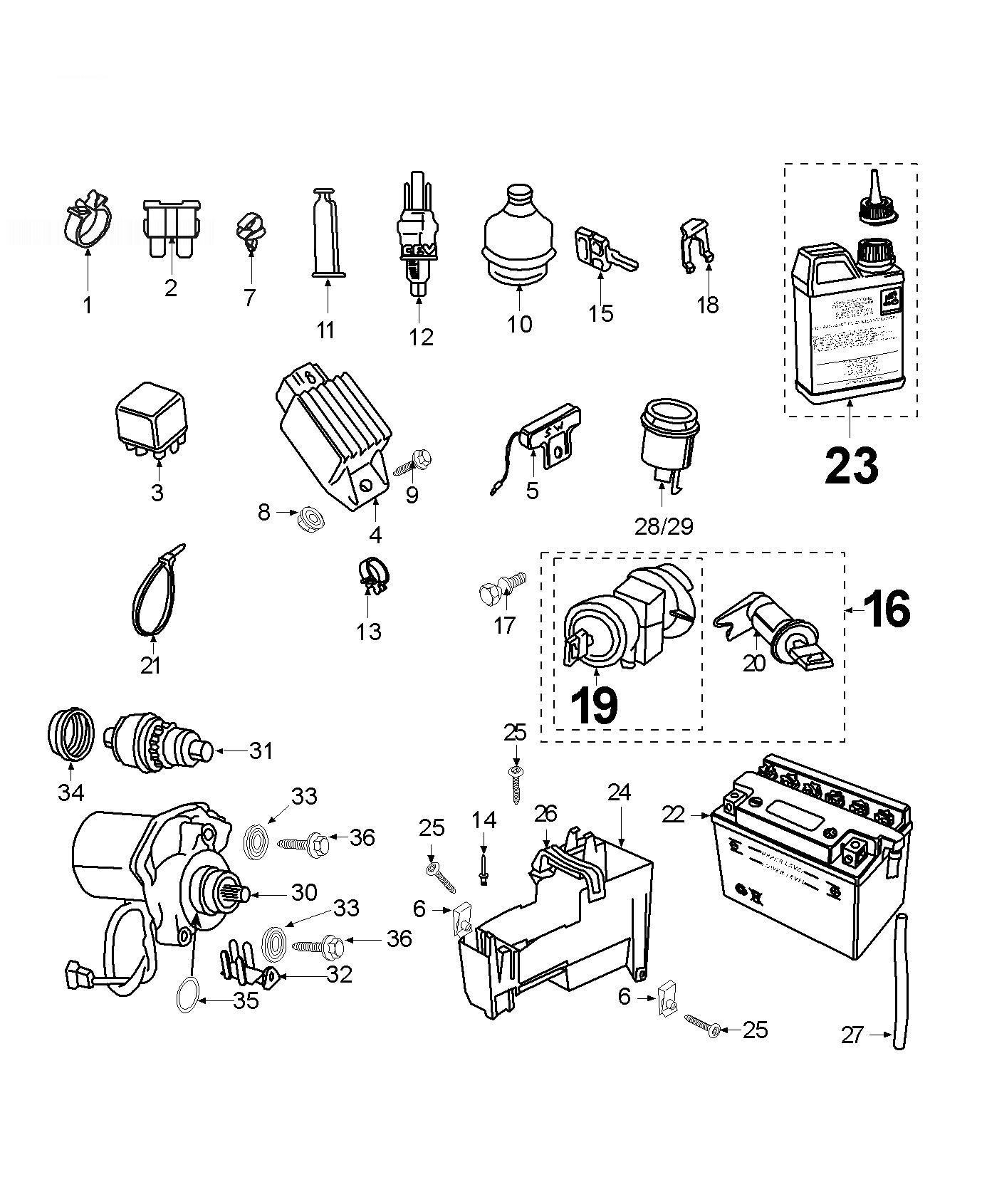 Peugeot Tkr Electric Equipment