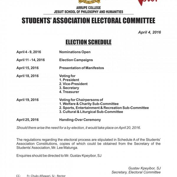 ElectionSchedule