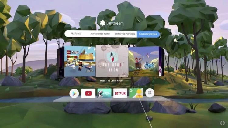 Realidade virtual Daydream 2.0