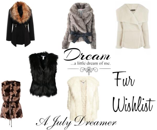 {Fashion Monday} Fur Coat Wishlist