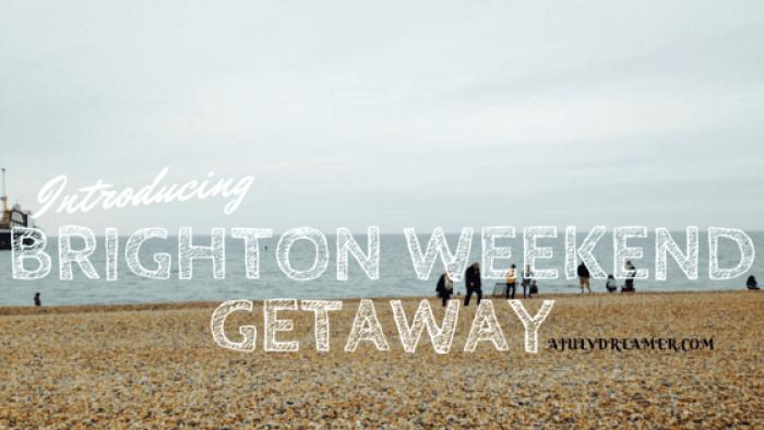 Brighton weekendgetaway