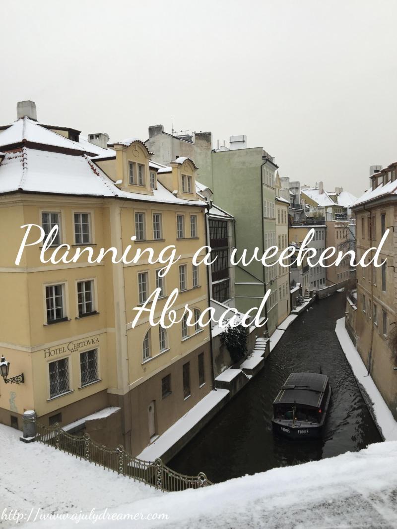 weekend getaway abroad
