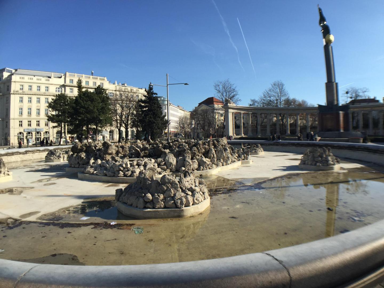 Soviet War memorial Vienna