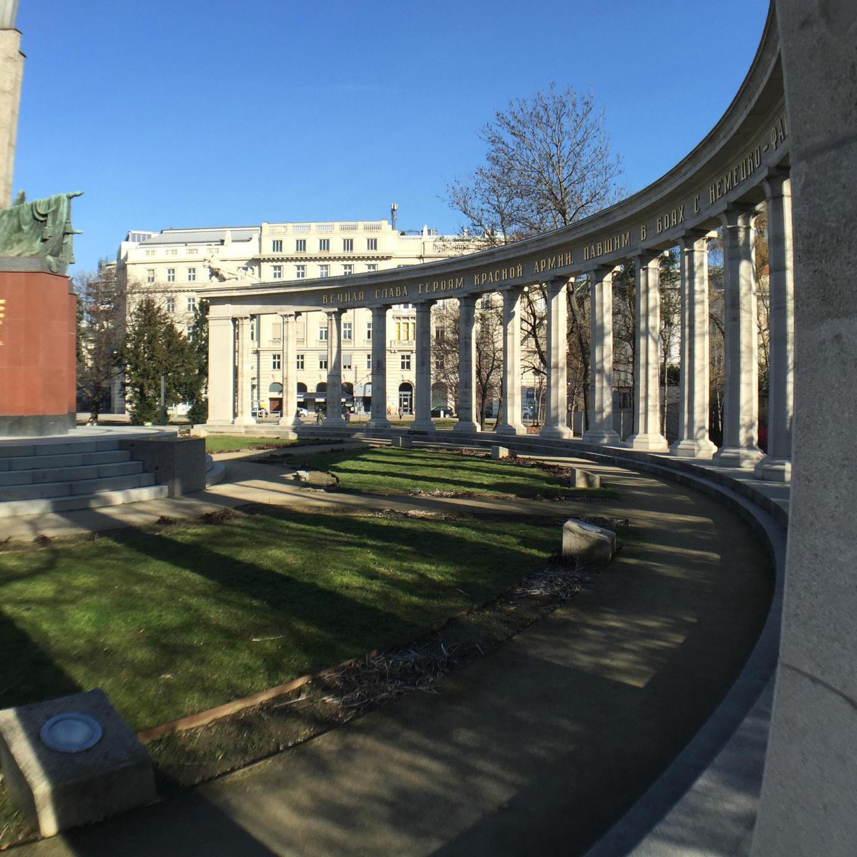 Vienna war memorial