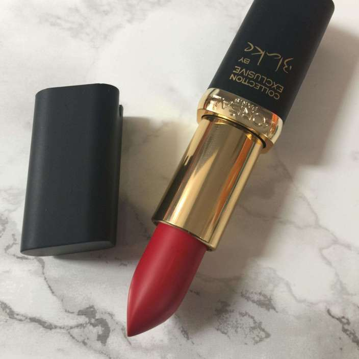 L'oreal Paris Collection Exclusive color riche by Blake in Blake's Pure Red
