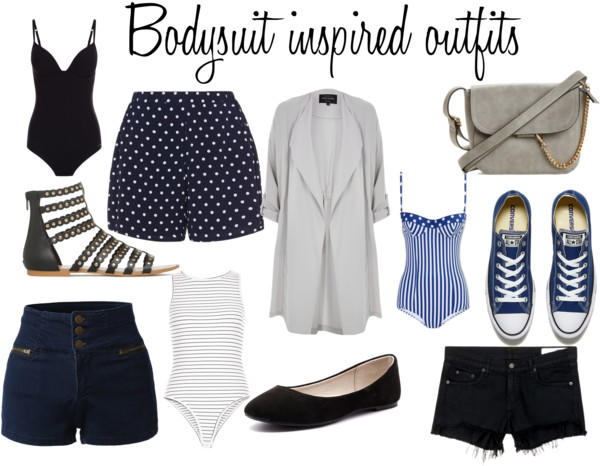 bodysuit inspired outfit