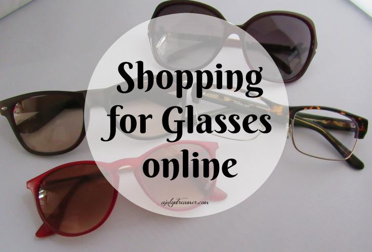 Shopping for glasses online