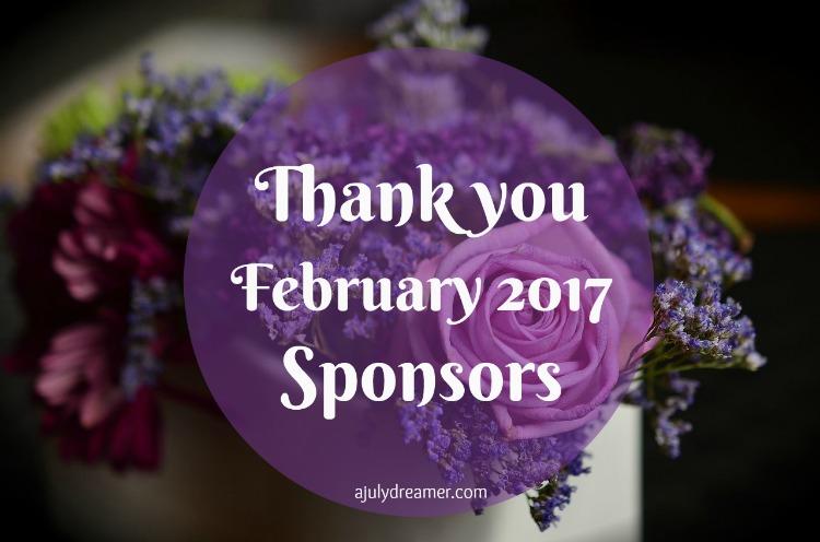 february 2017 sponsors