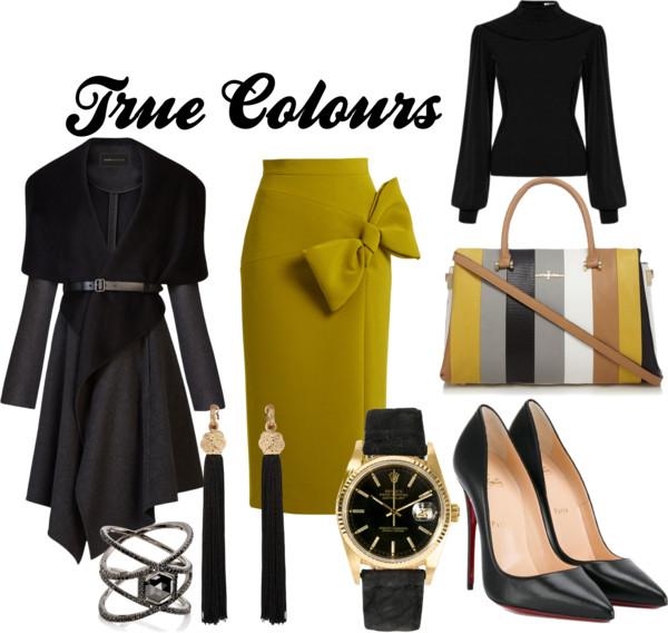 {Fashion Monday} True Colours