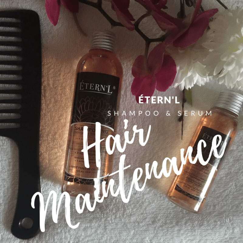 Hair Maintenance with ÉTERN'L {+ Giveaway} CLOSED