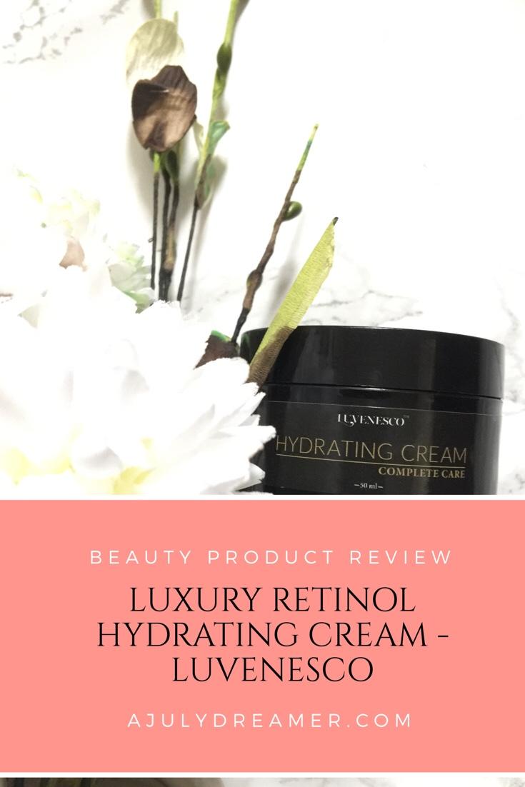 Luxury Retinol, Hydrating Cream