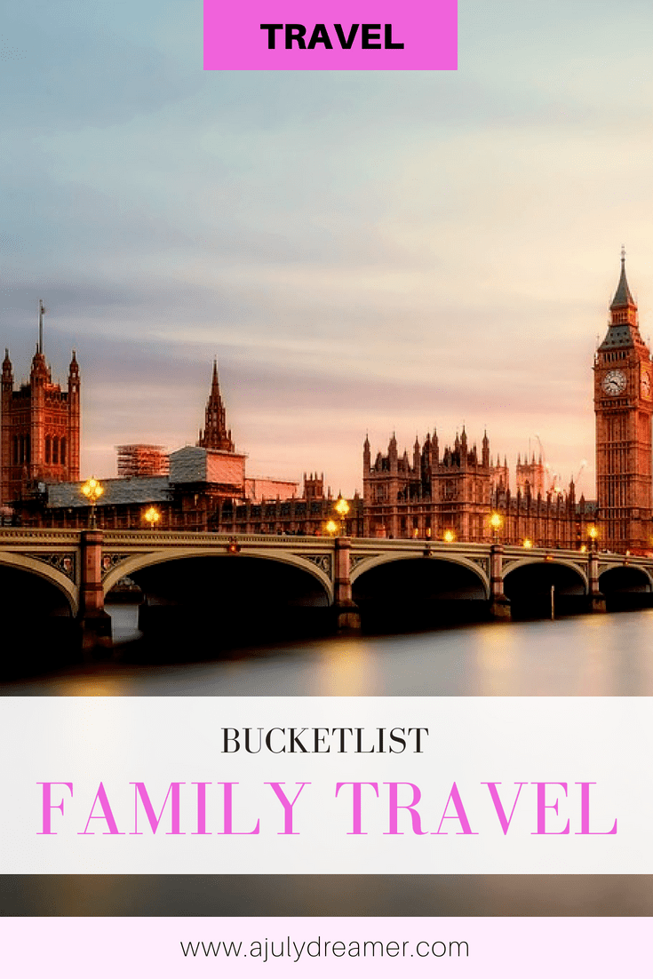 Family Travel Bucketlist