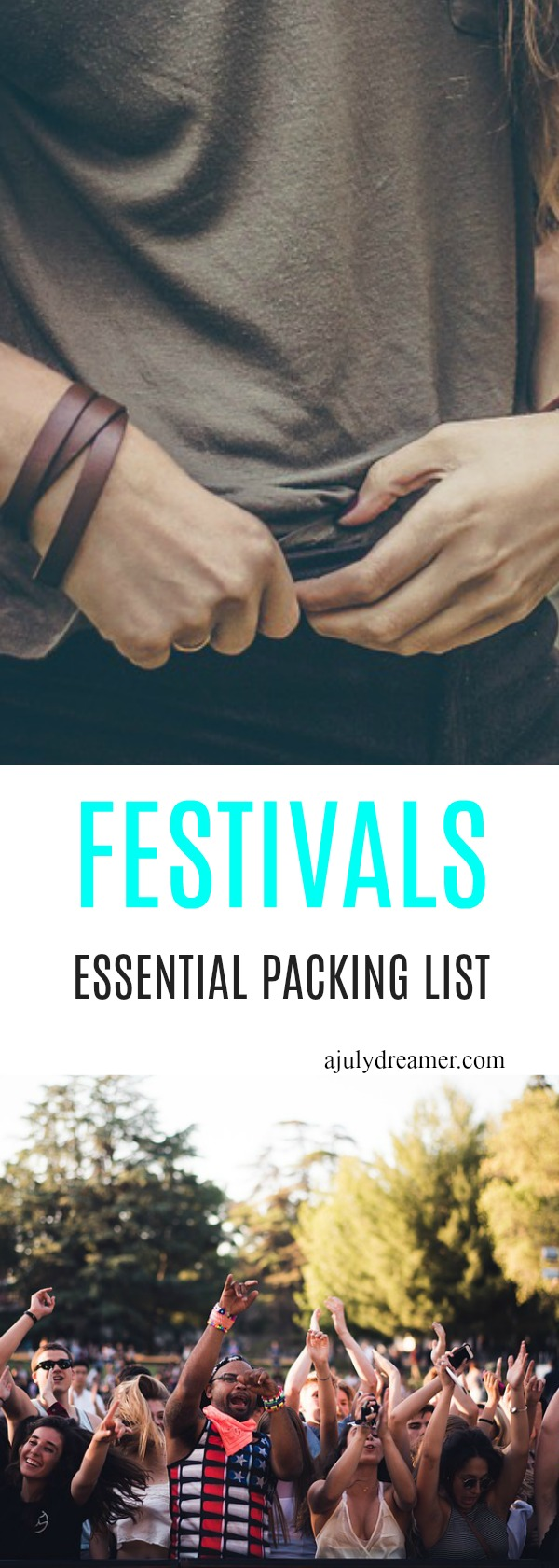 ultimate festival packing list