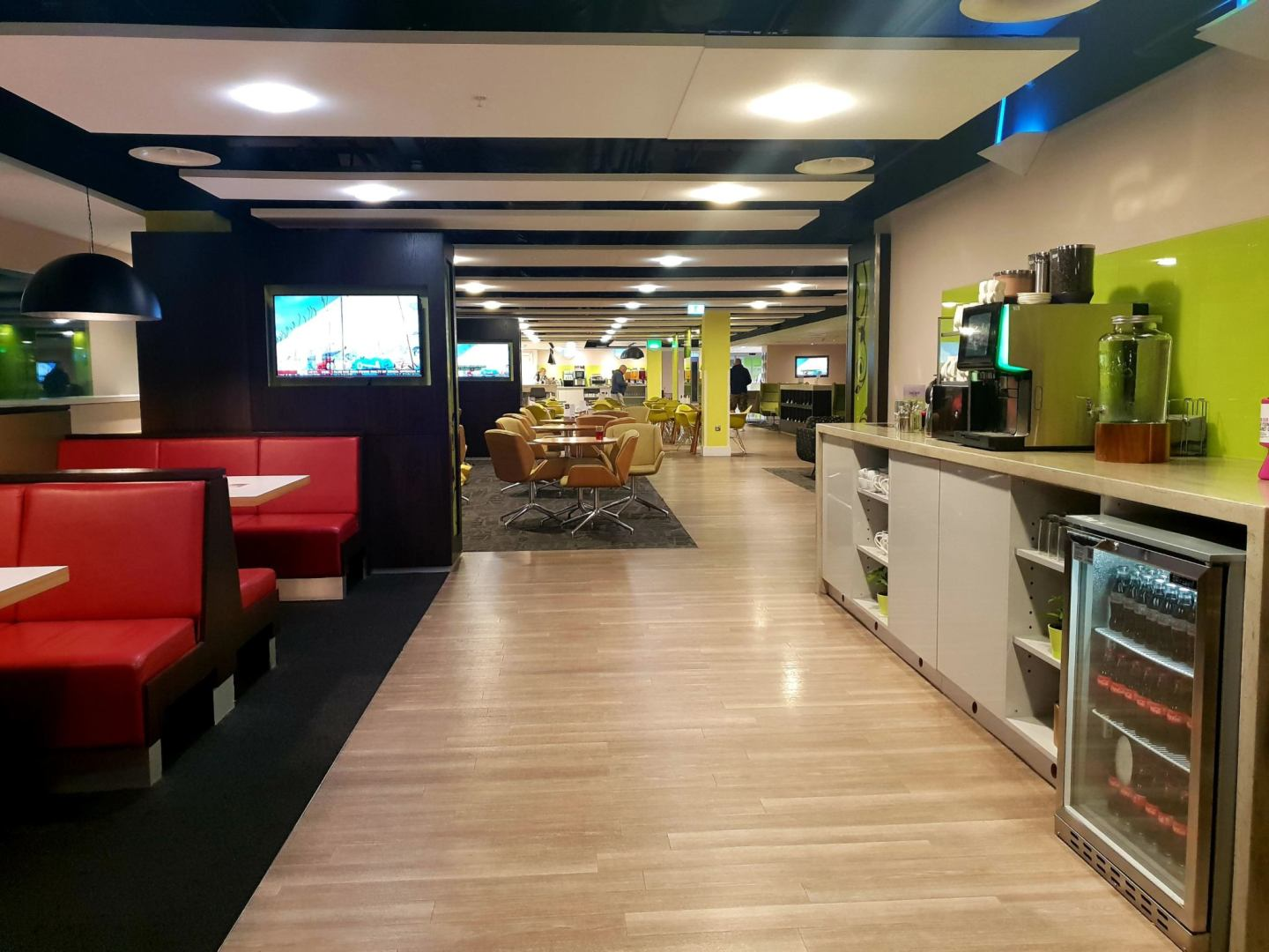 London Stansted Airport Ecape Lounge