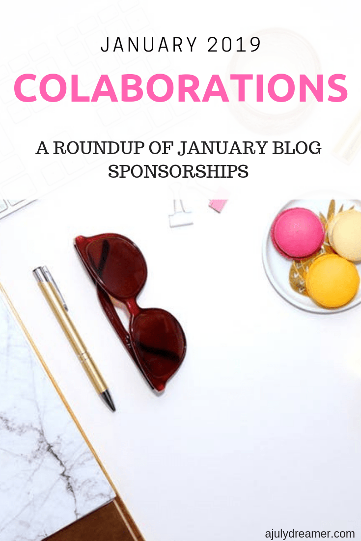 At the end of every month, we take the time to thank ALL the wonderful collaborations we've had. Blogging, though a hobby, is not easy and requires lots of sacrifice and time. Being able to collaborate with various brands lessens the hardship endured. We are thankful for ALL the January 2019 Collaborations mentioned in this sponsor roundup.