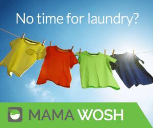 Perkhidmatan online dobi cucian premium dari Mama Wosh