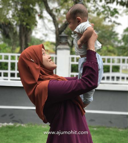 Ammar Muizz sudah pun 6 bulan