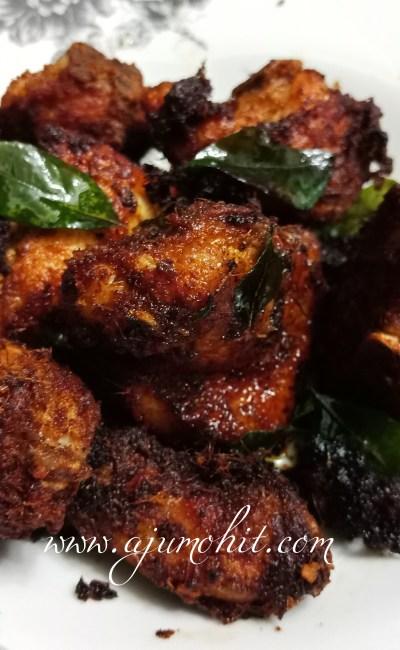 Resepi Ayam Goreng Berempah Cepat dan Mudah