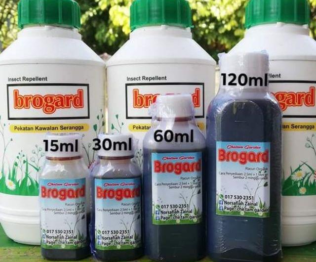 Baja organik Brogard rupanya mengandungi racun kimia berbahaya