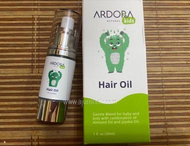 minyak rambut bayi Ardora Natural