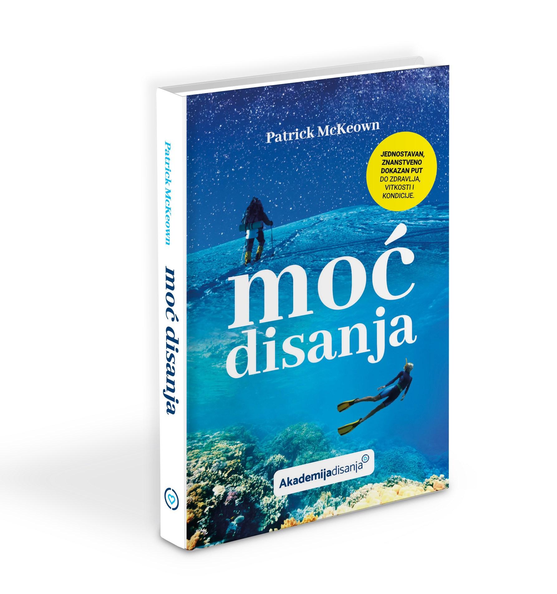 Moć disanja Patrick McKeown knjiga hrvatski