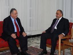 صورة رئيس الجمهورية يستقبل الاستاذ عادل عبد المهدي في المانيا