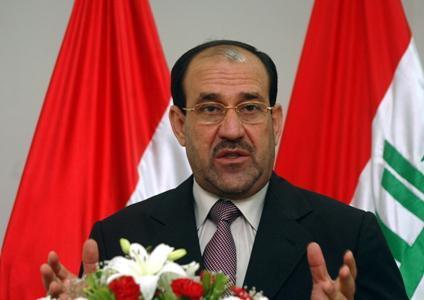 المالكي يدعو الى حماية العراق من المؤثرات الخارجية
