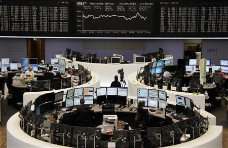 الأسهم الأوروبية تتراجع بعد صعود حاد