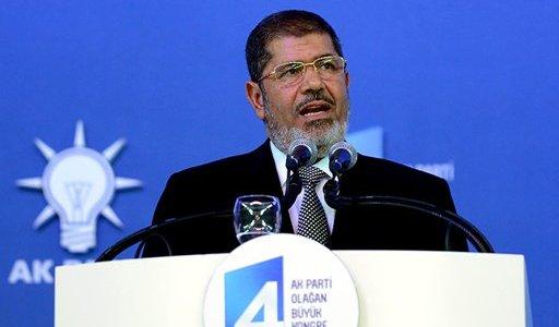 مرسي يشرح بتركيا ثوابت سياسة مصر