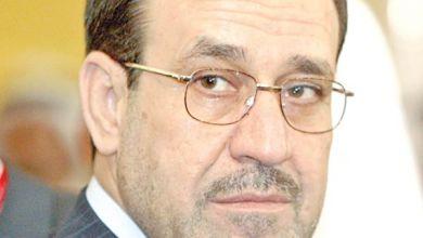 صورة المالكي يشترط في حال حضوره أي اجتماع وطني اعتماد ورقة التحالف
