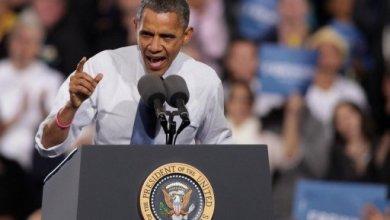 صورة اوباما يجوب ثماني ولايات حاسمة سعيا وراء اصوات الناخبين