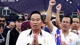 صورة تايلاند: عشرات الآلاف من المتظاهرين يطالبون باقالة الحكومة