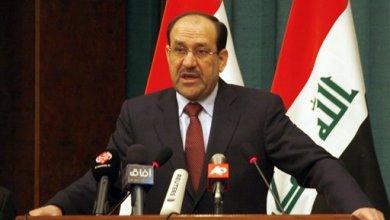 صورة المالكي : نرفض اي اساءة للفلسطينيين في العراق او اي دولة اخرى