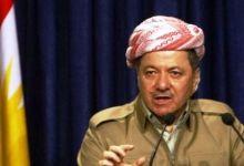 صورة البارازاني : القيادات الكردية  تعمل بشكل متواصل لحلة الازمة مع الحكومة الاتحادية