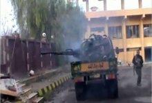 صورة معارك عنيفة جنوب دمشق ومقتل 114 شخصاً