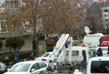 صورة تفجير يوقع قتيلين استهدف سفارة أميركا بأنقرة