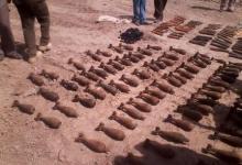 صورة شرطة الديوانية تتمكن من العثور على قنابل ومواد (C4 ) شديدة الانفجار .!