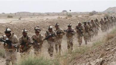 صورة تحريك قطعات عسكرية للحدود العراقية الأردنية السورية لتأمين انتخابات الأنبار ونينوى