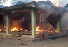 صورة متمردون يقتلون 44 شخصا داخل مسجد في نيجيريا