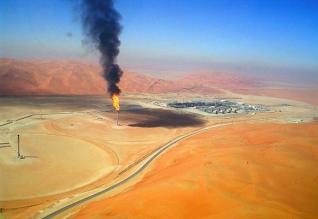 صورة شركة نفط ميسان : استخدام أنابيب بلاستيكية لمد خطوط نقل النفط في حقل أبي غرب