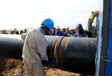 صورة شركة نفط ميسان : البدء بتنفيذ انبوب جديد لتصريف النفط الخام