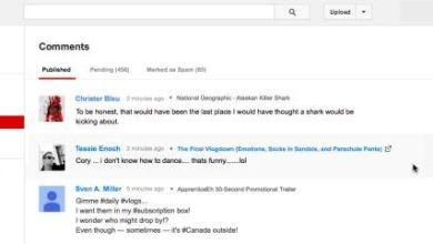 صورة «يوتيوب» تطلق ميزة جديدة لإدارة التعليقات
