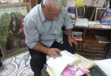صورة جواد السراي البايلوجي الذي احصى 4000 كلمة دخيلة على العربية ضمنها  21 من الانبياء