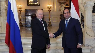 صورة مصر وروسيا: تسوية أزمة سوريا تقضي على البيئة المواتية للإرهاب