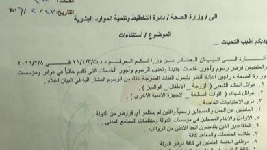 صورة نائبة في البرلمان تطالب الصحة باستثناء شرائح متعددة من التسعيرة الجديدة