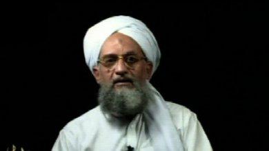 """صورة خبير: الظواهري يدعو لـقوة إسلامية موحدة  والبغدادي"""" عدوه الأول"""