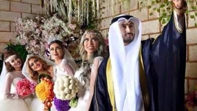 صورة حقيقة الكويتي وزوجاته الاربعة